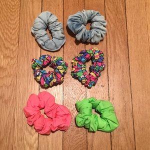 American Apparel Scrunchies - 6 Pack